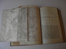 Charles Theodore Middelton - A new and complete system of Geography - 2 parts in 1 volume - 1777