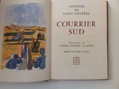 Antoine de Saint-Exupéry - 4 illustrated books - 1960