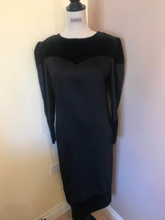 Christian Dior Vintage Black Dress