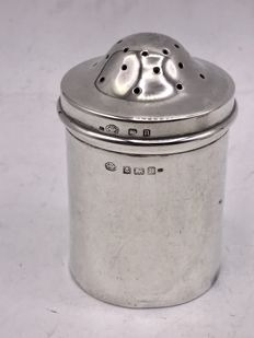 Large silver caster - Hukin & Heath Ltd - Birmingham - 1912