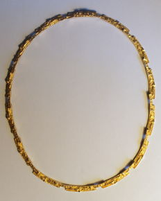 "Lapponia ""Tundra"" - necklace, 14K gold, 29,6g, 42cm"