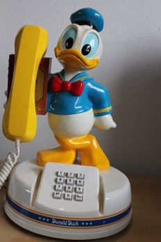 Disney, Walt - Telephone Comoc - Donald Duck - (1988)