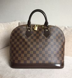 Louis Vuitton - Damier Ebene Alma PM Satchel Handbag