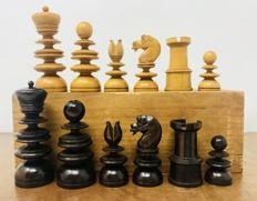 St. George chess set. England C. 19th