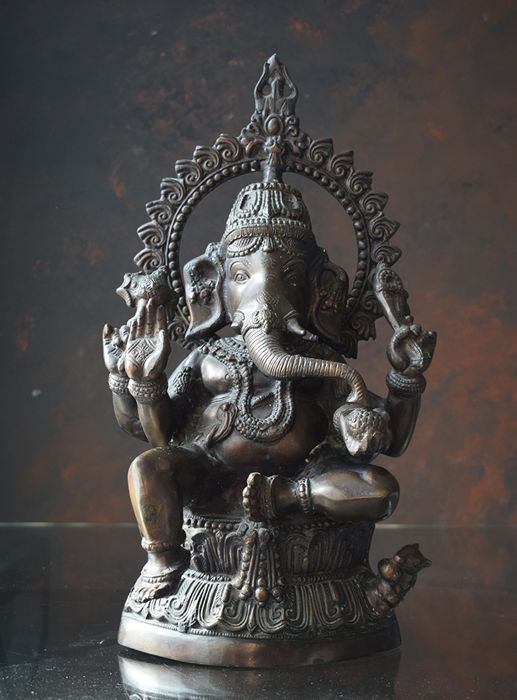 Large image of Ganesha - India - 2nd half 20th century (50 cm)
