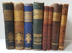 Classic; Lot with 8 Victorian editions of world famous poets, among others - 1879 / [c. 1890]