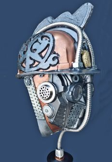 helmet  for steampunker or cosplayers