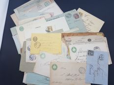 Switzerland -  lot of 188 items of postal history
