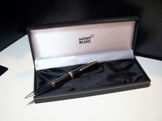 MONTBLANC Generation, black resin with gold plated inserts