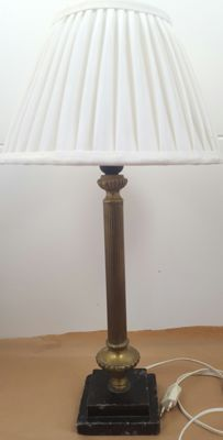 Table lamp - new electricity - size 58 cm - Spain - first half of the 20th century-