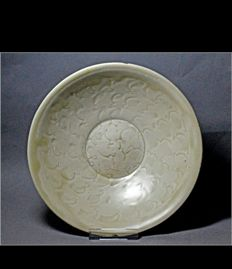 Northern Song Dynasty White Porcelain Bowl - 19.3cm x 5.8cm