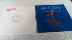 3 interesting albums for collectors of promo albums and/or misprint albums. By Sha Na Na,  Elvis Costello and Jan&Dean.