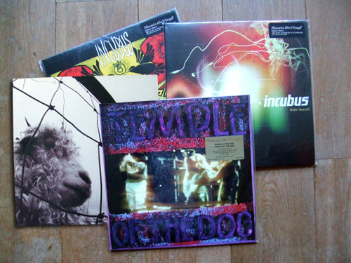 Four top quality vinyl albums temple of the dog temple of the four top quality vinyl albums temple of the dog temple of the dog numbered limited edition on purple vinyl pearl jam vs and incubus a crow left solutioingenieria Gallery