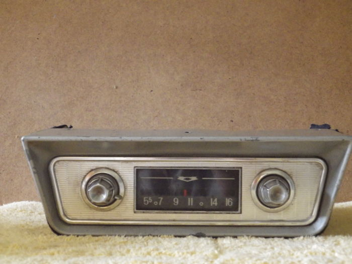 Old car radio for Chevrolet - circa 1960