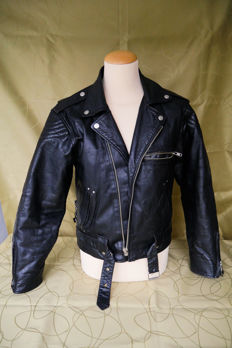 Harley Davidson - Leather biker jacket - Size 42