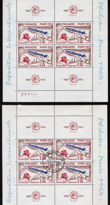 France 1960/1982 - Collection of stamps between Yvert no. 1239 and 2230.