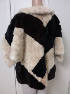 Mink fur coat Poncho/cape/jumper
