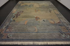 Beautiful modern Oriental Nepal Tibet 300 x 390 cm made in Nepal carpet Tappeto Tapis rug old modern Tapijt