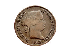 Spain - Isabelle II (1833 - 1868), 40 cents from 1868 - Madrid