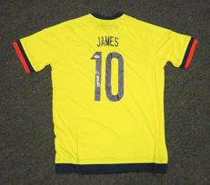 James Rodriguez #10 Signed Colombia Soccer Jersey AUTO Sz XL PSA/DNA COA Authentic Certified, now by FC Bayern Munich. No Reserve Price!