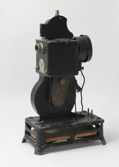 Old projector Pathé-Baby for 9.5 mm film (find)