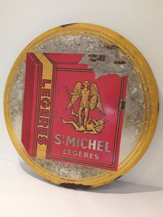 Enamel advertising sign - St. Michel - 1953