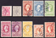The Netherlands 1913/1920 – Selection – NVPH 82/83, 95 to 100 and 104/105