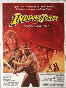 Anonymous - Indiana Jones et le Temple maudit / Indiana Jones and the temple of Doom (Steven Spielberg) - 1984