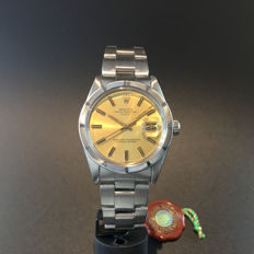Men's Vintage Rolex Oyster Date with yellow Dial, Ref. 1501