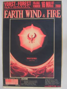 Earth, Wind & Fire - Performance 'Tour of the World' 16th March 1979 - Brussels