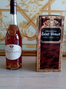 Chateau de Montifaud XO harvest 1985 - bottled 2015 (30 Years) and Armagnac Saint-Vivant