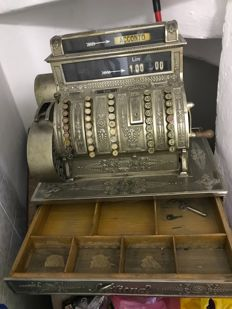 Cash register - 1905 National, imported from the USA