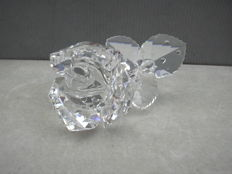 Swarovski - Silver Crystal the rose