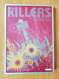 The Killers Smile Like You Mean It framed poster