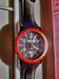 BF GOODRICH Set - Men's watch made in Japan + Director umbrella - powerful, for 4 people.