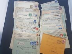 Switzerland -  lot of 160 items of postal history WWI and military items
