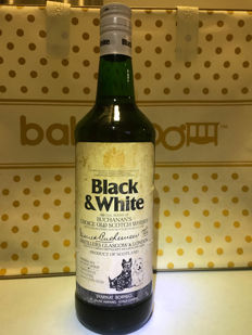 Black and White - under 81% proof spirit - 1970s