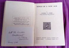Alfred Thomas Story - Songs of a New Age - 1918