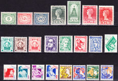 The Netherlands 1921/1932 - collection of various issues