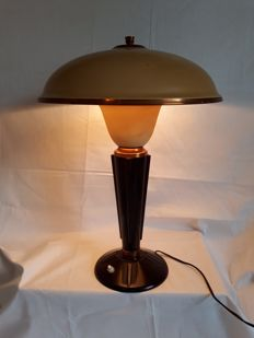 Eileen Gray for JUMO - Art Deco bakelite table lamp