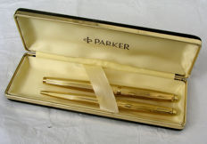 Parker 75 millerais, pens set: fountain and ballpoint