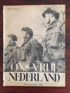 Ons Vrije Nederland - 85 not bound editions - 1945/1947