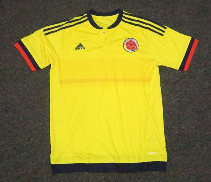 brand new 839cc 14ce4 James Rodriguez #10 Signed Colombia Soccer Jersey AUTO Sz XL ...