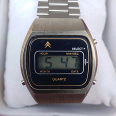 CITROËN Digital Men's wristwatch 1970s