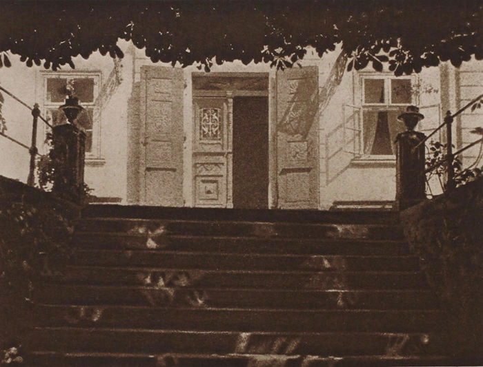 Otto Ehrhardt (1869-1942) - Stair to house entrance