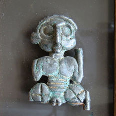 Luristan Bronze Idol depicting a male figure - 50mm