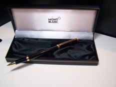 MONTBLANC Noblesse Oblige, black resin with gold plated inserts