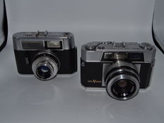 Lot aires viscount 1960/-voigtlander vito I automatic1962