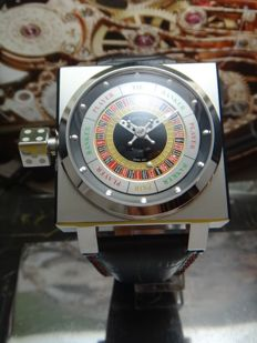 AZIMUTH SP-1 KING CASINO with 3D ROULETTE GAME - men's watch 2017