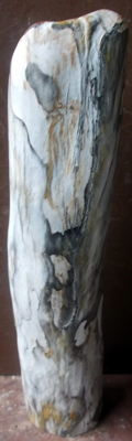 Sculpture from a trunk of petrified wood - 52.5 cm - 7.2 kg